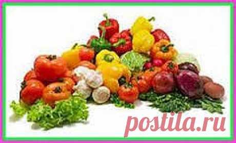 Овощи. Полезные советы.
