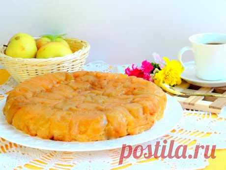 Янтарный яблочный пирог — Sloosh – кулинарные рецепты
