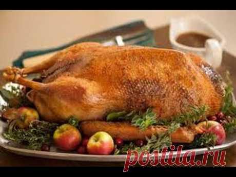 Как приготовить гуся с тушеной капустой, рецепты из птицы, мастер класс от шеф повара