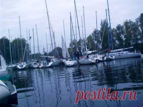 Регаты , Украинка яхт Клуб,  Днепр