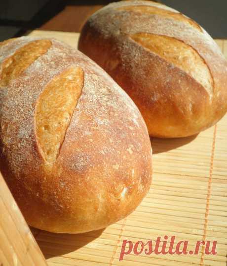 Французский деревенский хлеб - СОЛНЕЧНЫЙ ПЕКАРЬ — LiveJournal