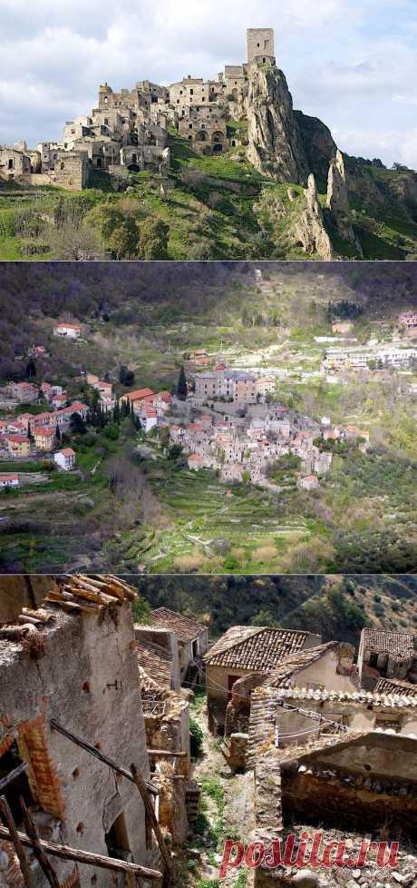 Итальянские города-призраки : НОВОСТИ В ФОТОГРАФИЯХ