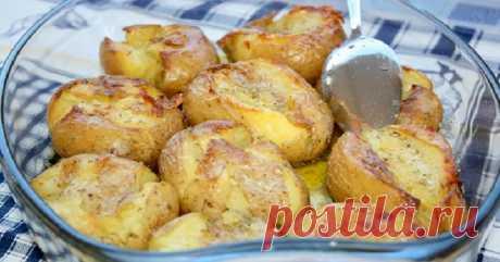 Картофель в кожуре, запеченный в духовке - Советы домохозяйкам