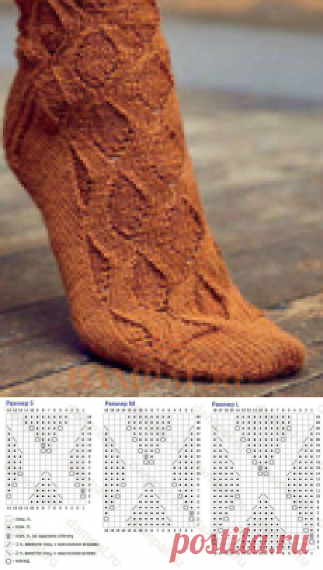 Вязаные носки «Lynda»
