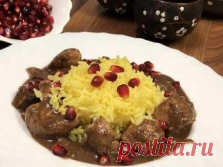 Фесенджан. Персидская кухня Добрый день всем добрым людям!Прошу уж если не любить, то жаловать: фесенджан, блюдо, которое должна уметь готовить любая уважающая себя иранская женщина. Как правило, готовят его из утки, допускается...