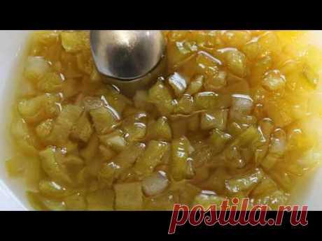 Минимум ингредиентов, немного времени и один из самых дешевых сезонных продуктов в основе! Пропорции - на 1 кг кабачков берется 800 грамм сахара и 1 лимон. К...
