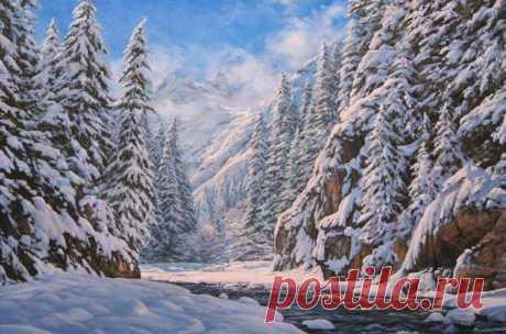 Реалистичные пейзажи Аркадия Олейника Аркадий Олейник родился 19 декабря 1965 года в Белоруссии. В 1973 году переехал с родителями в Краснодарский край, а с с 1986 года проживает в г. Краснодаре. Профессиональной живописью занимается с 19...