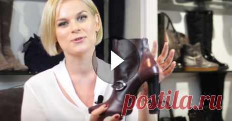 Пользуясь этим трюком, вы запросто выберете удобную обувь на каблуке!