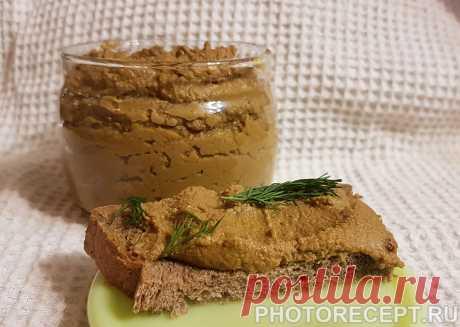 """Печеночный паштет """"От бабушки Ани"""" - рецепт с фото пошагово Печеночный паштет """"От бабушки Ани"""" - пошаговый кулинарный рецепт приготовления с фото, шаг за шагом."""