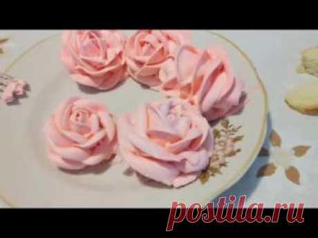 Крем для розочек на торт: рецепты, способы декорирования
