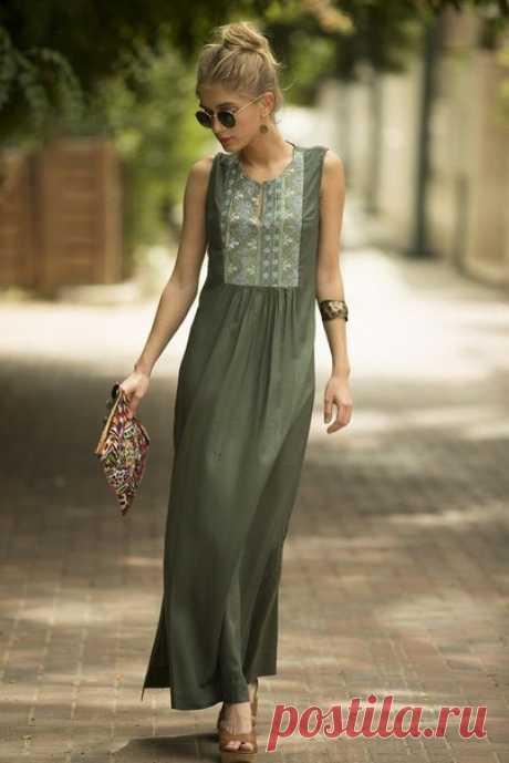 Оригинальные летние платья. Фасоны и идеи на заметку