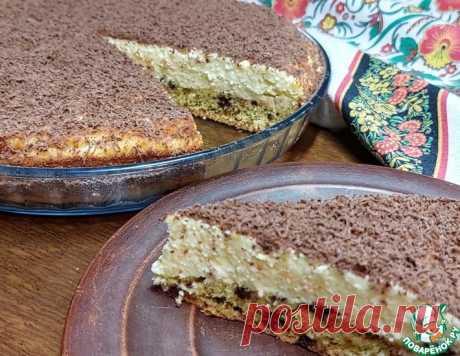 """Творожный пирог """"наоборот"""" с шоколадом – кулинарный рецепт"""