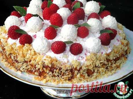 """Торт """"Снежки"""" Автор: laraa"""