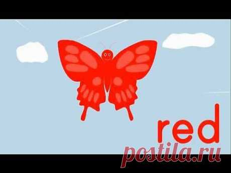 ▶ The Butterfly Colors Song - YouTube