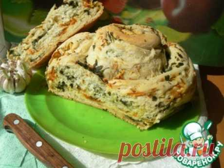 Картофельный хлеб-улитка - кулинарный рецепт
