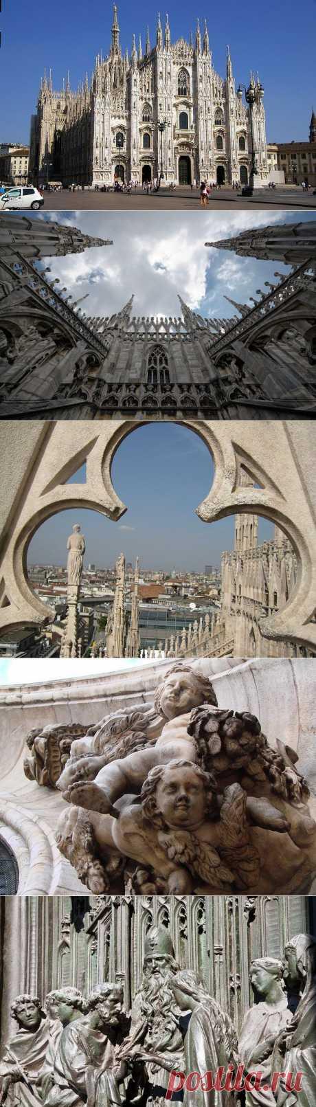 Миланский собор в Италии фото