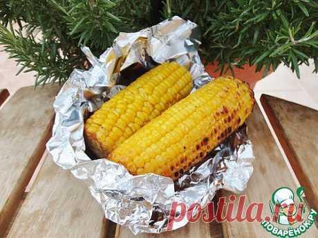Кукуруза с лимоном и чесноком - кулинарный рецепт