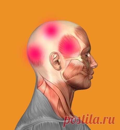 Как снять головную боль без таблеток / Будьте здоровы