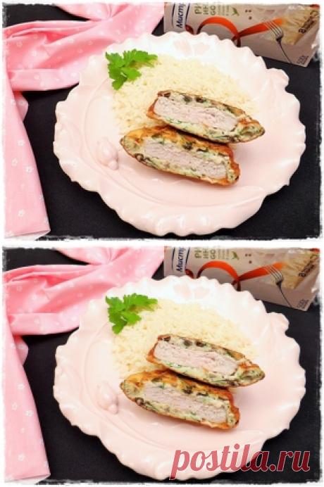 Отбивные в грибном кляре с рисом «Индика gold» за 30 минут рецепт с фотографиями