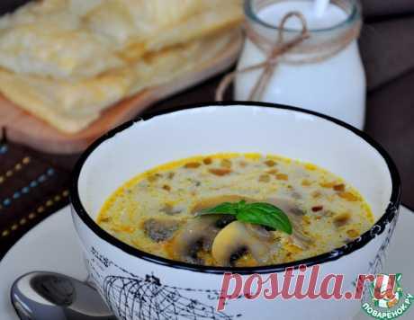 Грибной суп – кулинарный рецепт