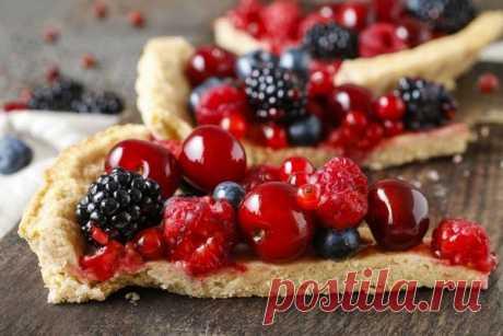 15 рецептов сладких пирогов с ягодными начинками
