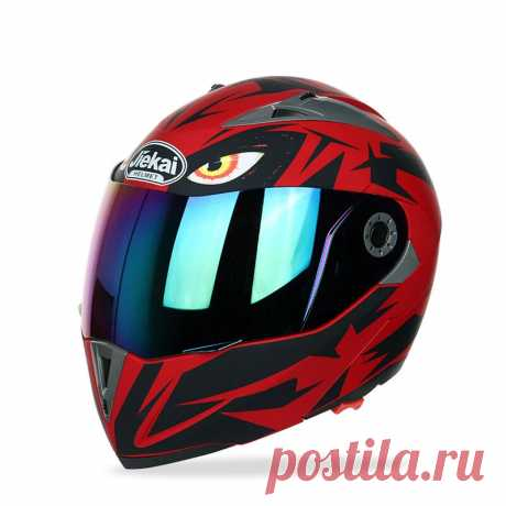 Jiekai jk105 motorcycle helmet flip up unveiled headpiece with double plating lens electric bike men anti-fog all seasons helmets Sale - Banggood.com