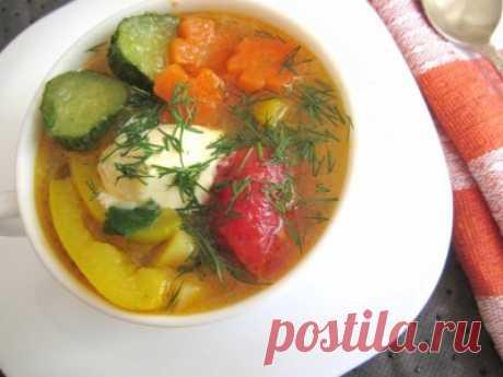 Овощной суп «Семь в одном» : Первые блюда