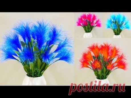 Изготовление красивых декоративных цветов из атласной ленты