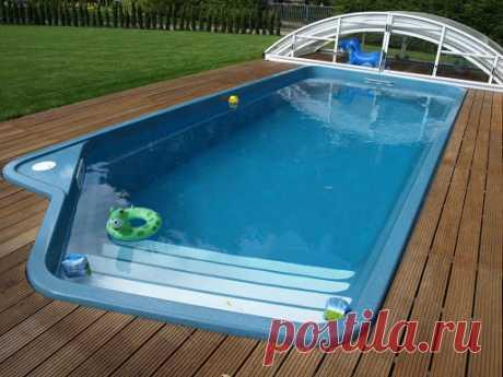 Преимущества композитных бассейнов | Домовой | Дизайн интерьера и ремонт В эксплуатации композитные модели бассейнов не вызывают много проблем, поэтому многие выбирают их. Покупателям предоставляют модели от разных производителей. Именно