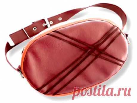 Выкройка поясной сумки | Выкройки одежды на pokroyka.ru