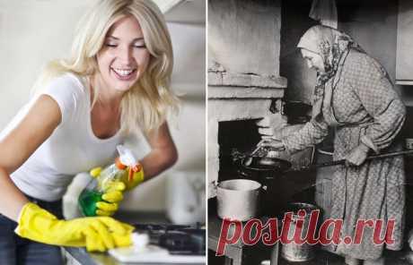Средство для чистки плит: современные формулы VS бабушкины рецепты . Милая Я