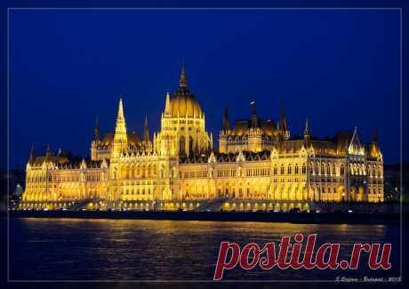 Budapest de la sección del viaje