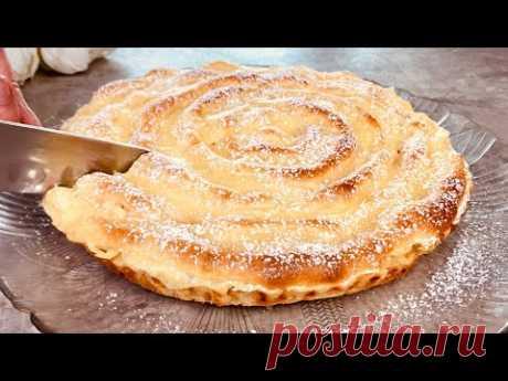 🌪Торт как УРАГАН - Возьми 2 яблока и сделай этот легкий торт - Рецепт №63 ASMR VIDEO