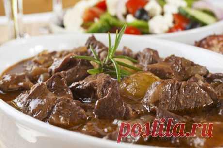Тушеное мясо: ТОП-6 рецептов