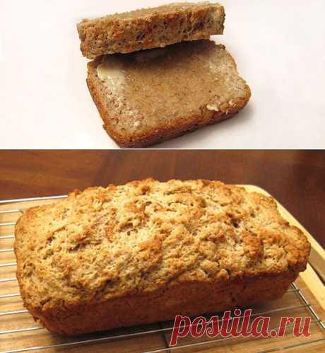 Домашний хлеб на пиве(в духовке).