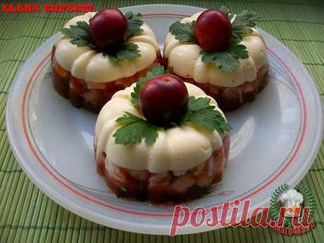 «Закусочное пирожное» из курицы (МК от Елены)