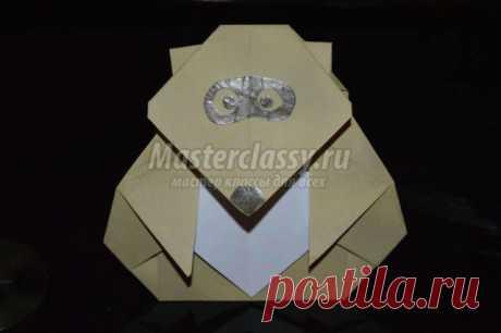 Оригами животные. Енот. Мастер-класс с пошаговыми фото