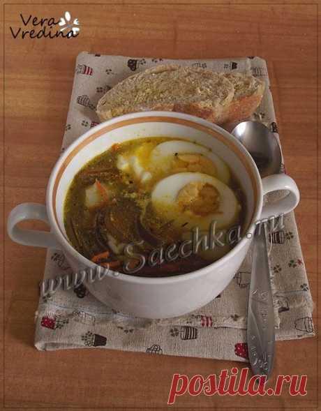 Суп с морской капустой | рецепты на Saechka.Ru