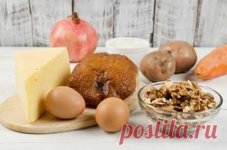 Салат «Красная шапочка» - пошаговый рецепт с фото - как приготовить, ингредиенты, состав, время приготовления - Леди Mail.Ru