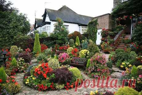 Самые красивые садовые участки фото 🔍