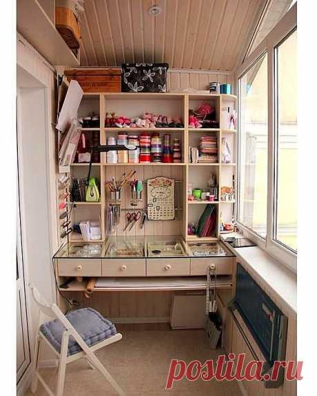 Швейные балкончики: идеи — DIYIdeas