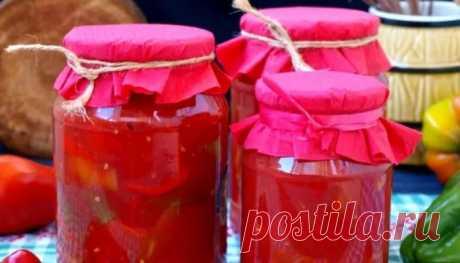 Как приготовить лечо из перца и помидор на зиму - 7 простых рецептов