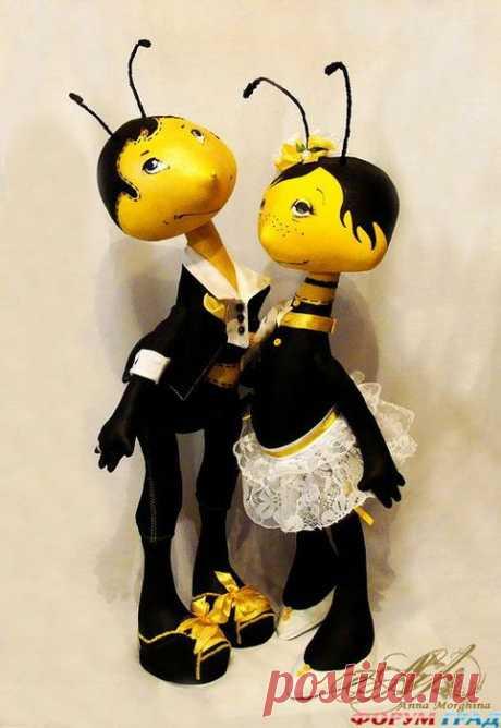 Как сшить мягкую игрушку Пчелку / Мастер-класс