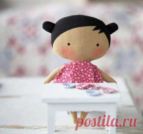 "Как сшить куклу тильду ""Tilda Sweetheart Doll"" / Мастер-класс"