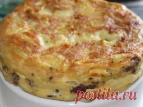 Картофельная запеканка с мясом в мультиварке - Рецепты для мультиварки