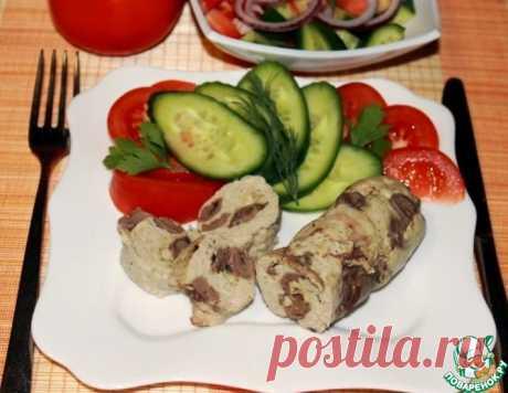 Куриные колбаски с сердечками и сыром – кулинарный рецепт