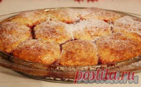 """Сладкие дрожжевые булочки """"Бухтельн"""" на малиновом конфитюре - 6 пошаговых фото в рецепте"""
