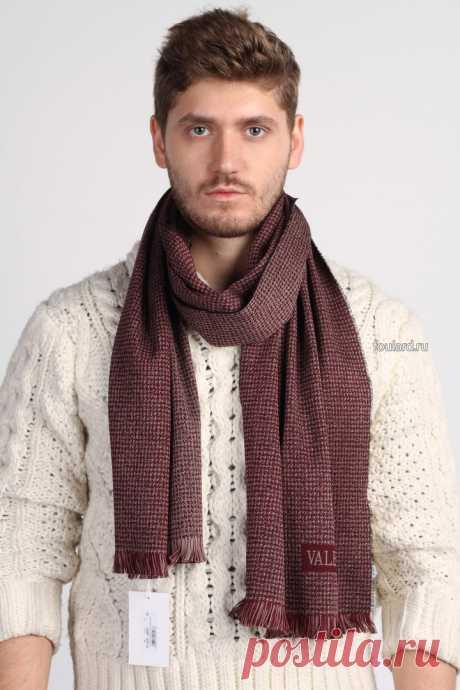 Шарф от Valentino и3 100% натуральной шерсти на осень и зиму. Брендовый аксессуар для стильных мужчин - закажи в один клик у нас на сайте.