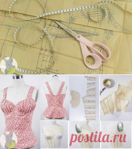 Ещё один способ шить одежду без построения выкроек | Творческие будни | Яндекс Дзен