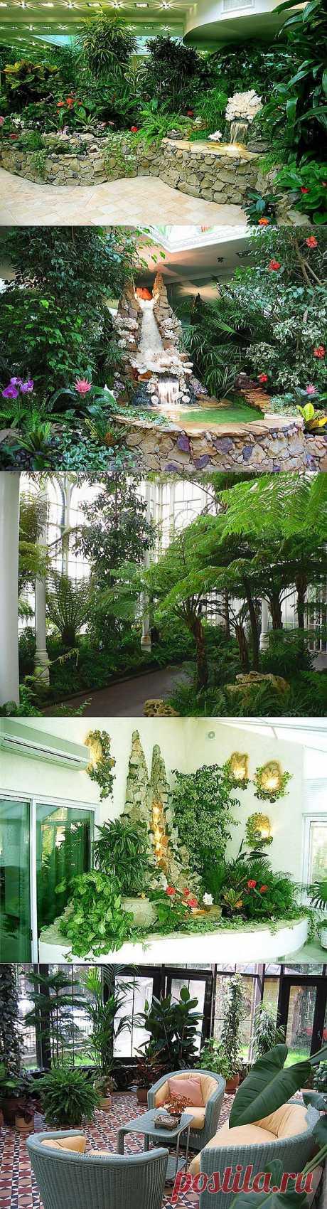 Замечательные зимние сады, как кусочек оазиса дома. Обсуждение на LiveInt | postila.ru/post/category/shopping